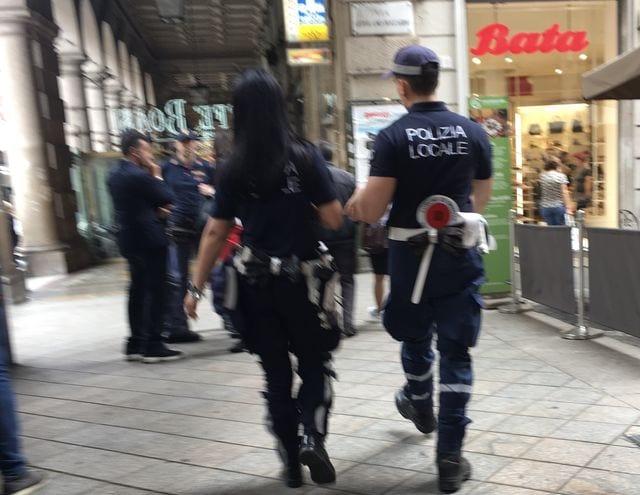 polizia locale vigili Genova