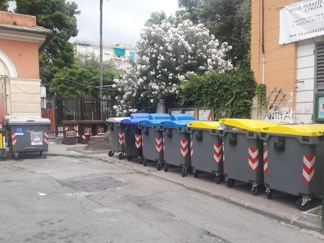Pegli - Bidoni accanto alla stazione, Bordilli (Lega): Municipio coinvolto doveva scegliere e non lo ha fatto
