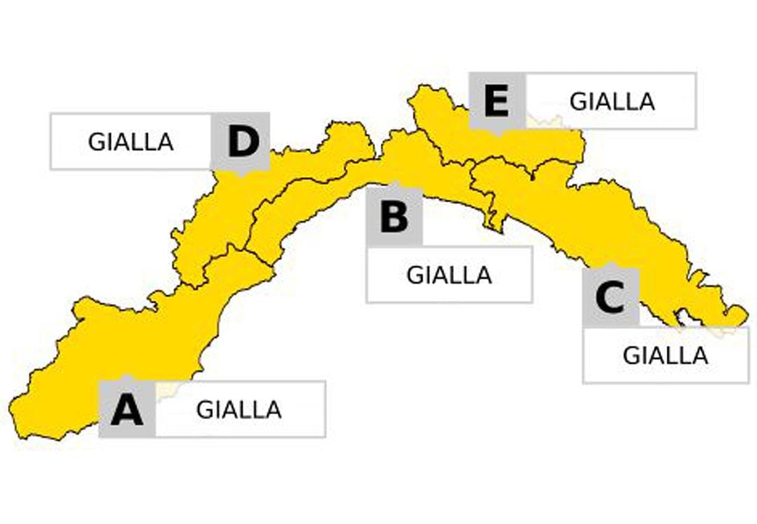 Cartina Stradale Liguria Levante