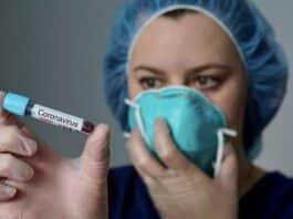 coronavirus, provetta
