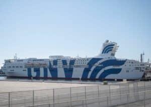 Spledid, nave traghetto GNV, nave ospedale