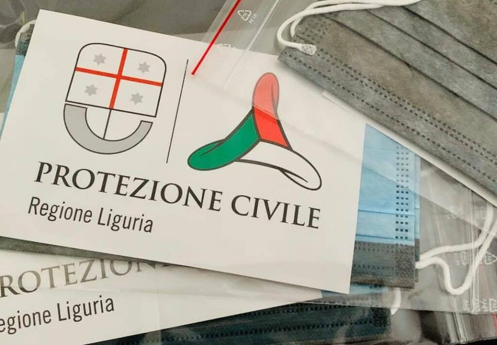 mascherine gratuite Regione Liguria