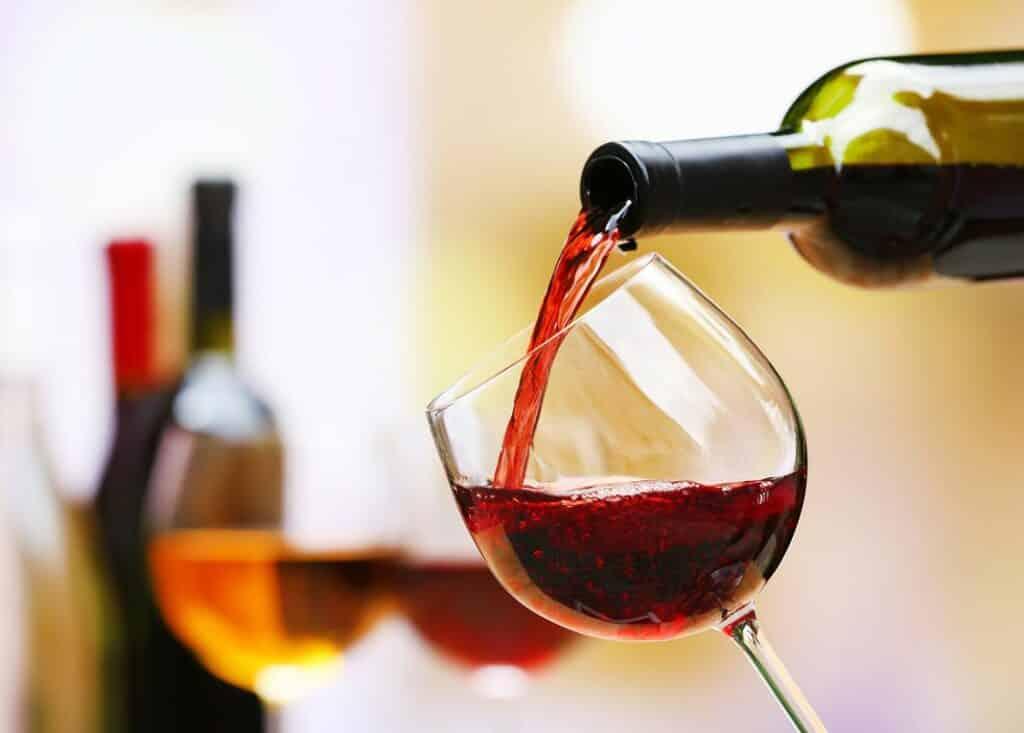 vino bicchiere bottiglia