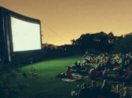 Cinema all'aperto Nervi