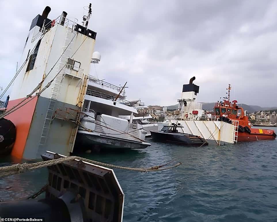 super servant incidente Palma Maiorca