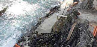 marinella lavori scogliera