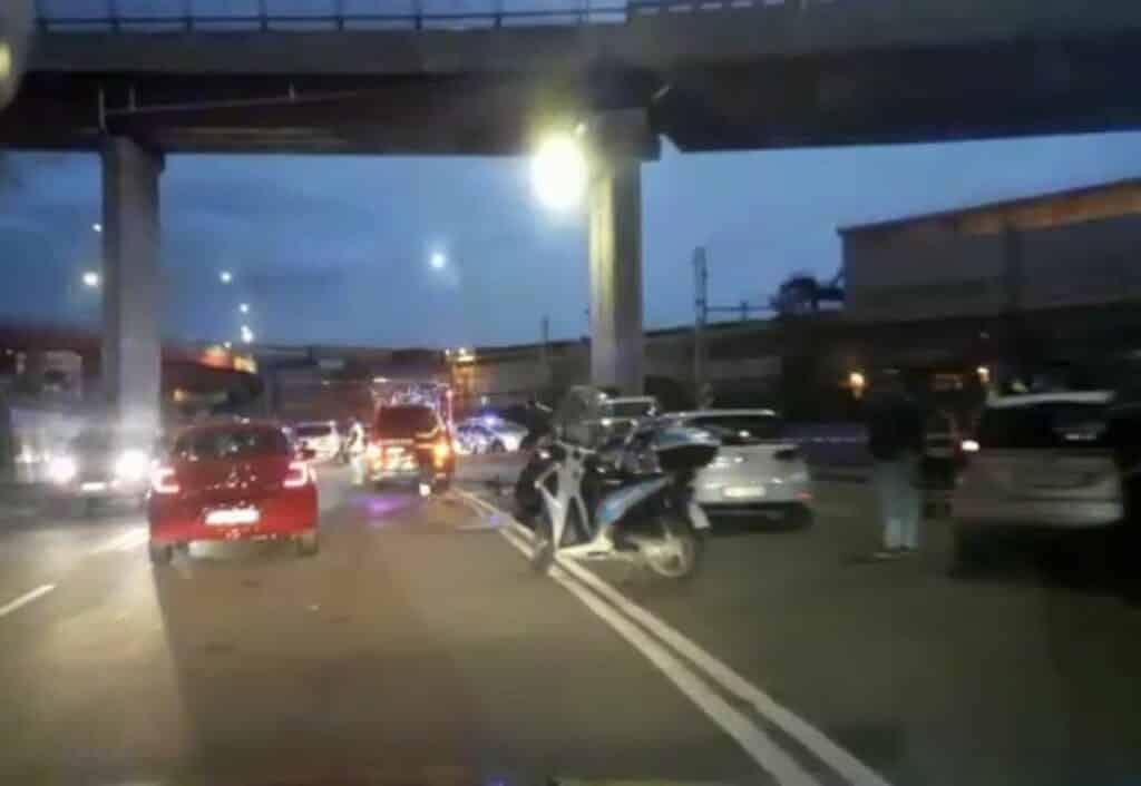 incidente via Siffredi Sestri