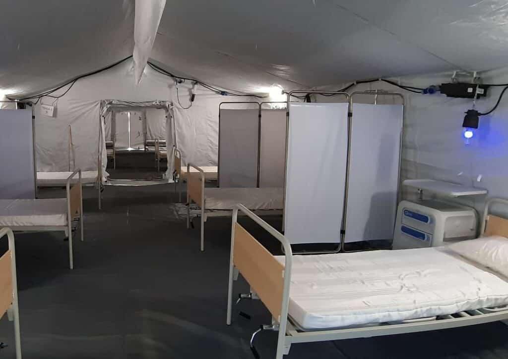 ospedale emergenza san Martino