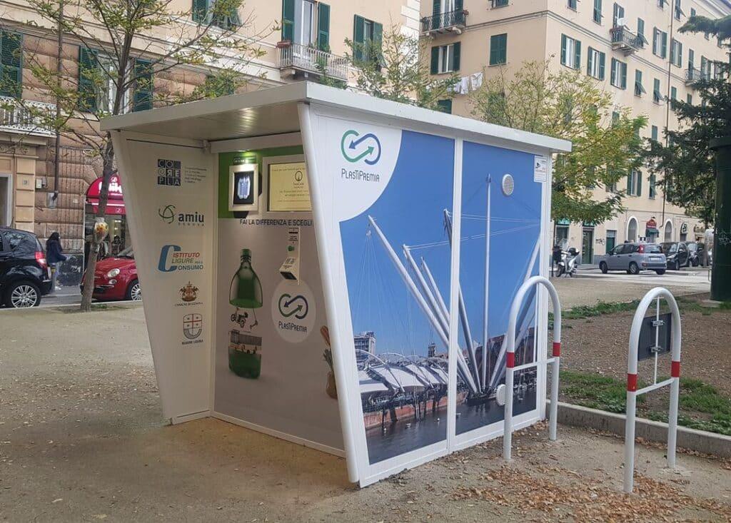 plastica riciclo, genova Amiu, notizie Genova, Coreplastica