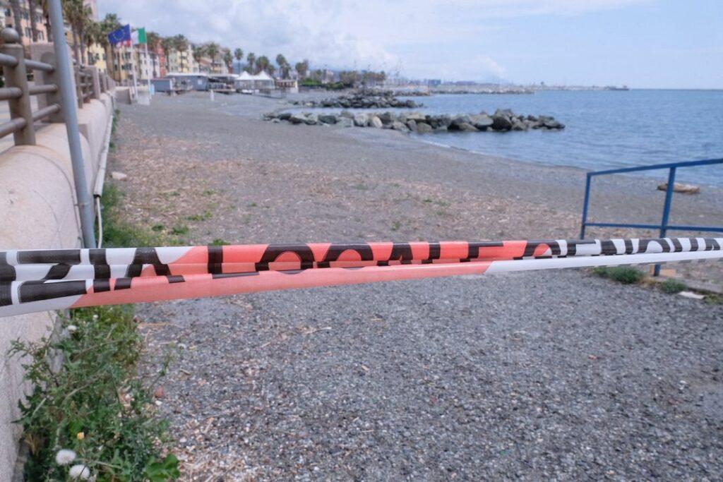 spiagge chiuse Genova