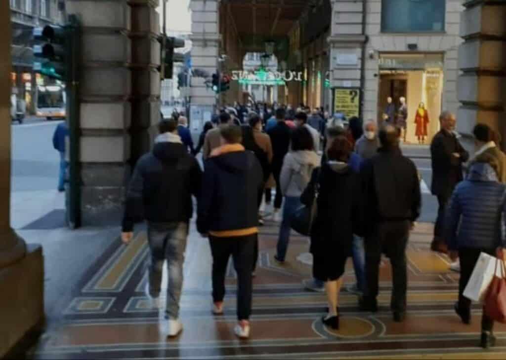 via Venti Settembre Genova