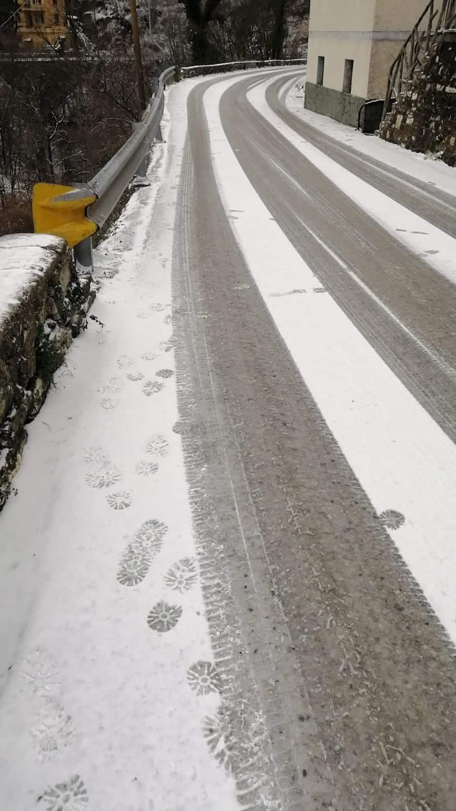 neve ghiaccio strade