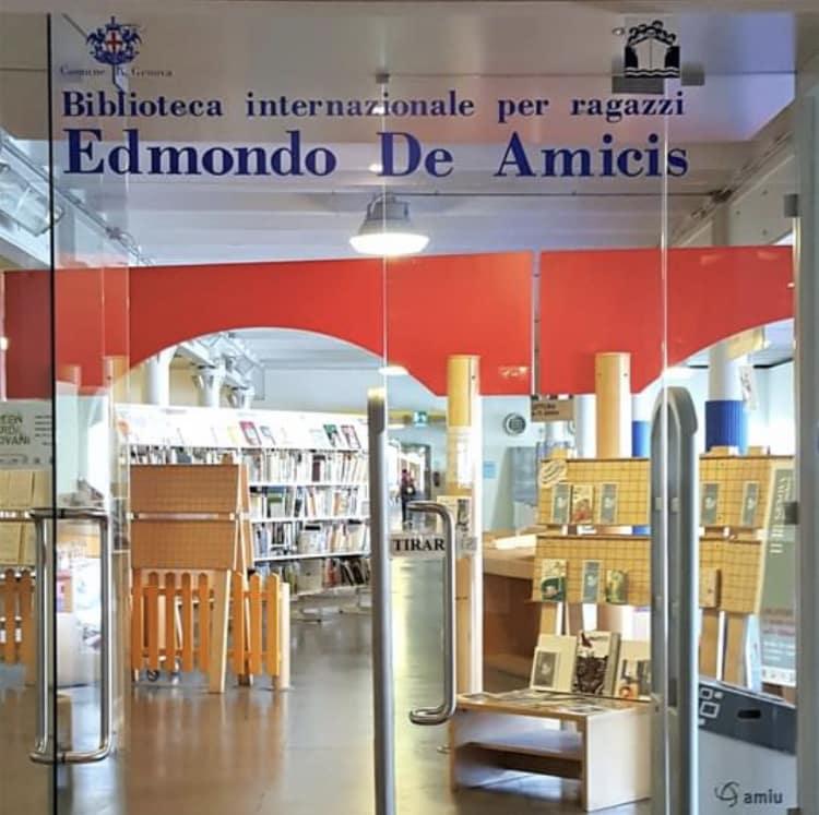 De Amicis biblioteca Genova