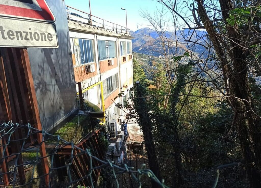 Panarello sede produttiva Genova via Carso