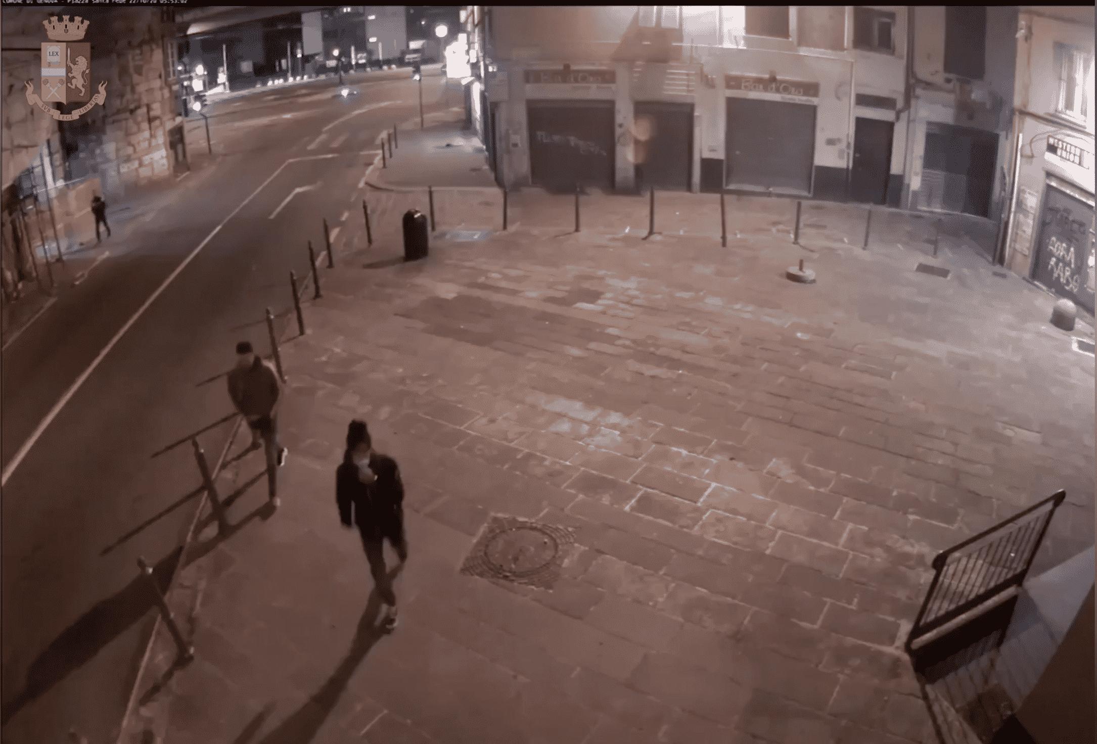 rapinatori polizia centro storico