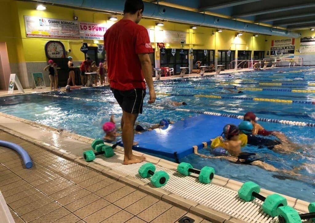 crociera stadium piscina
