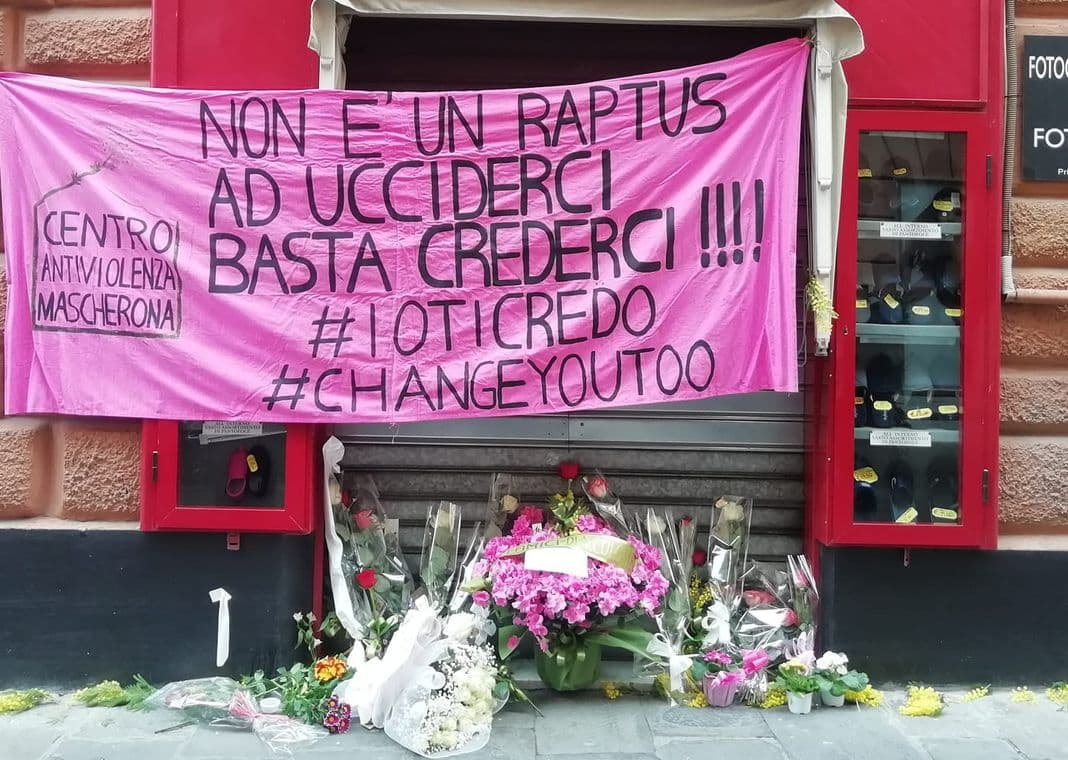 omicidio Genova, donna uccisa via Colombo