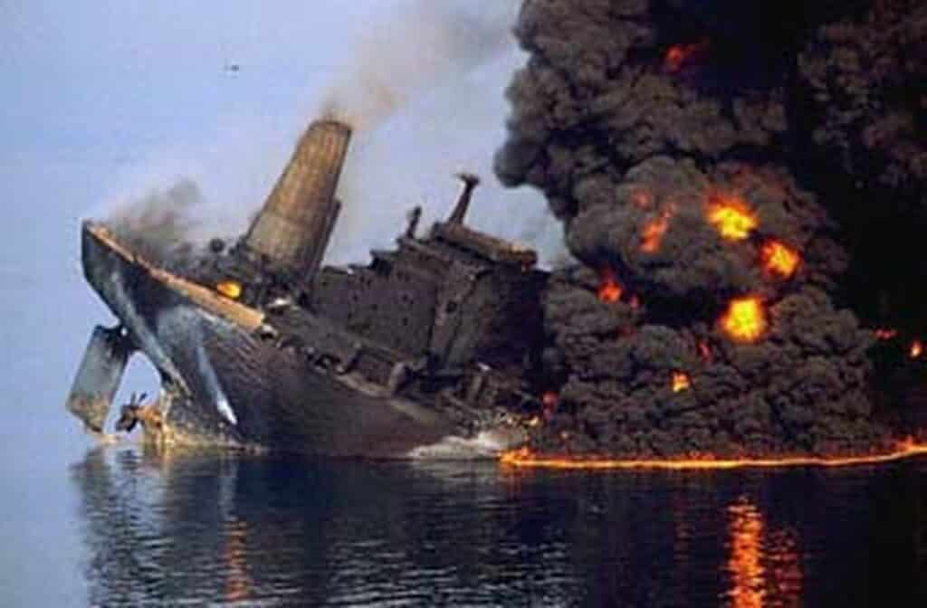 Haven petroliera arenzano