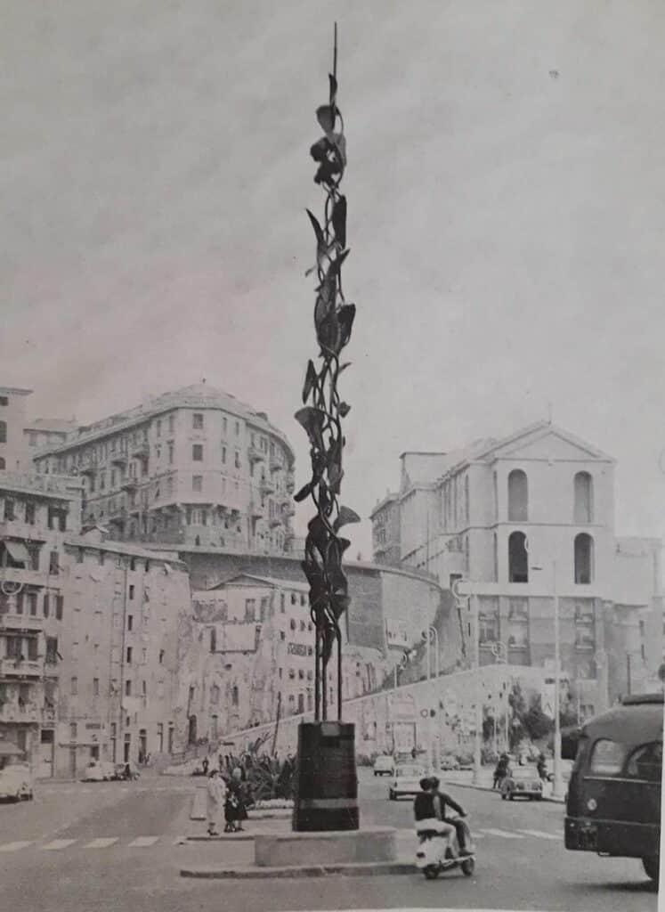 statua corso Italia nino Franchina