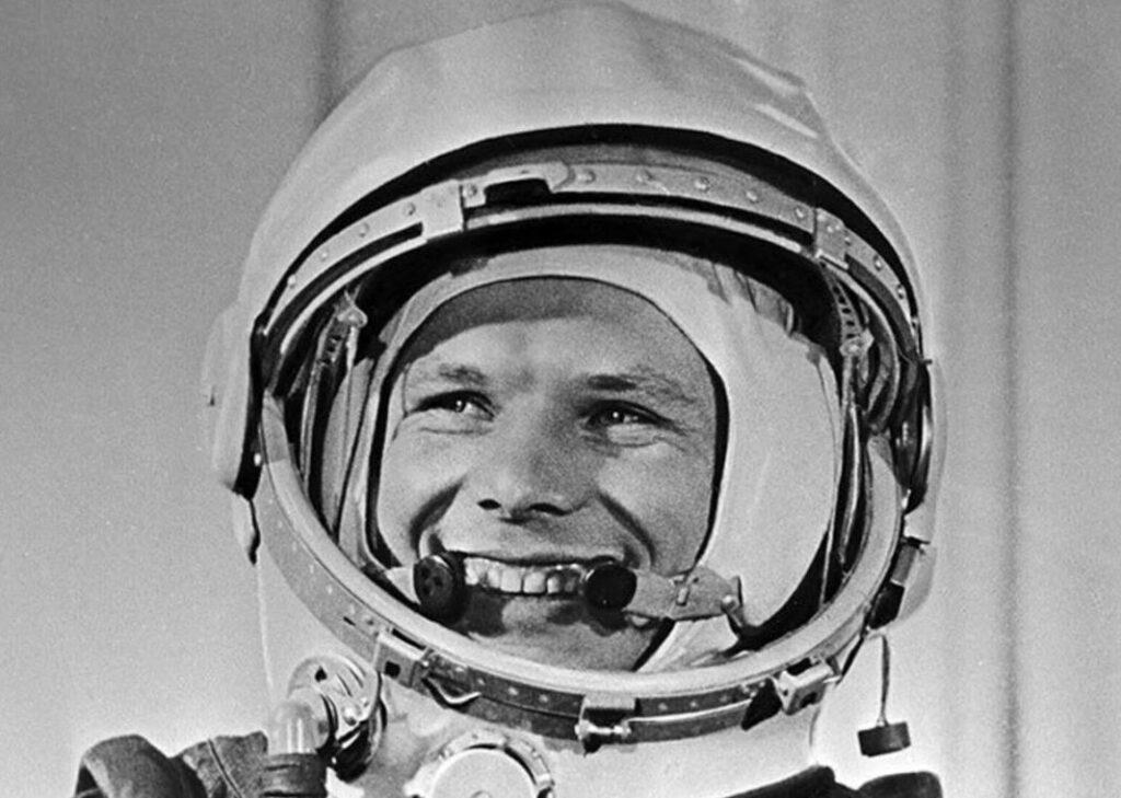 Yuri Gagarin astronauta russo