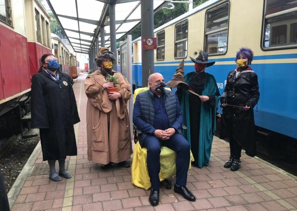 Genova Hogwarts Express Trenino Casella