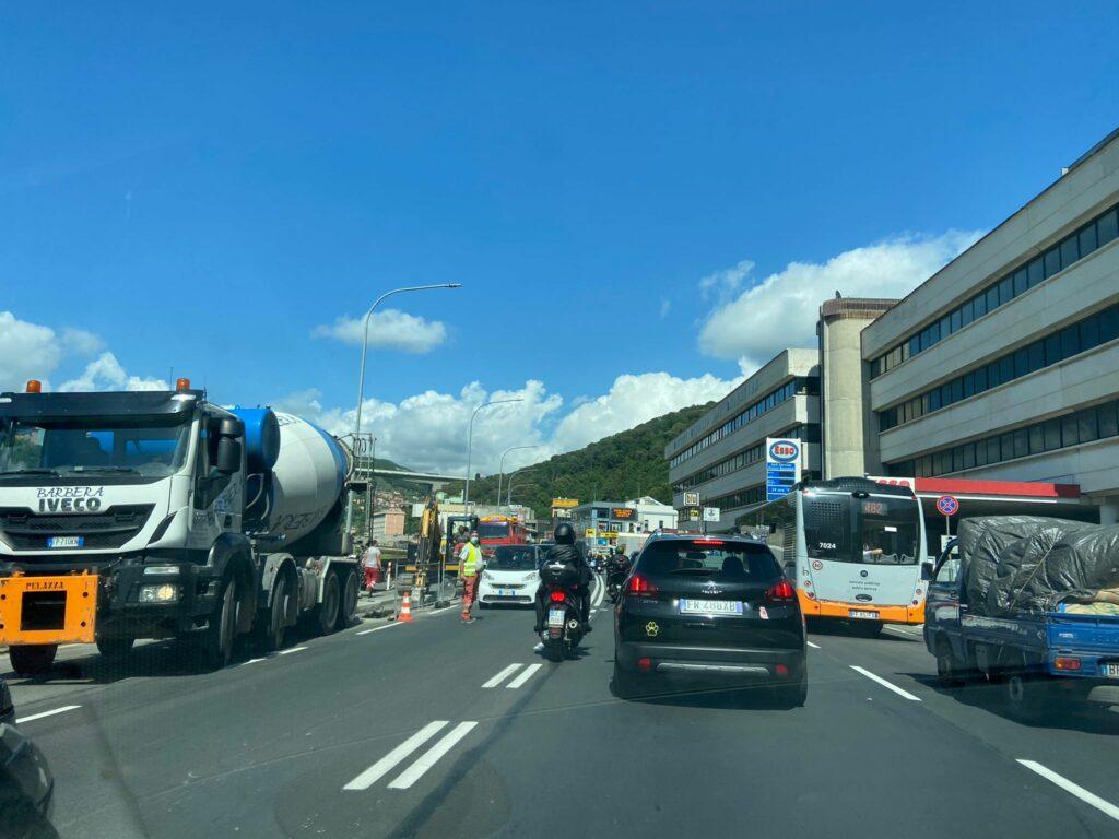Traffico Valbisagno
