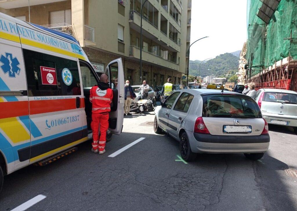 incidente via Buffa Voltri