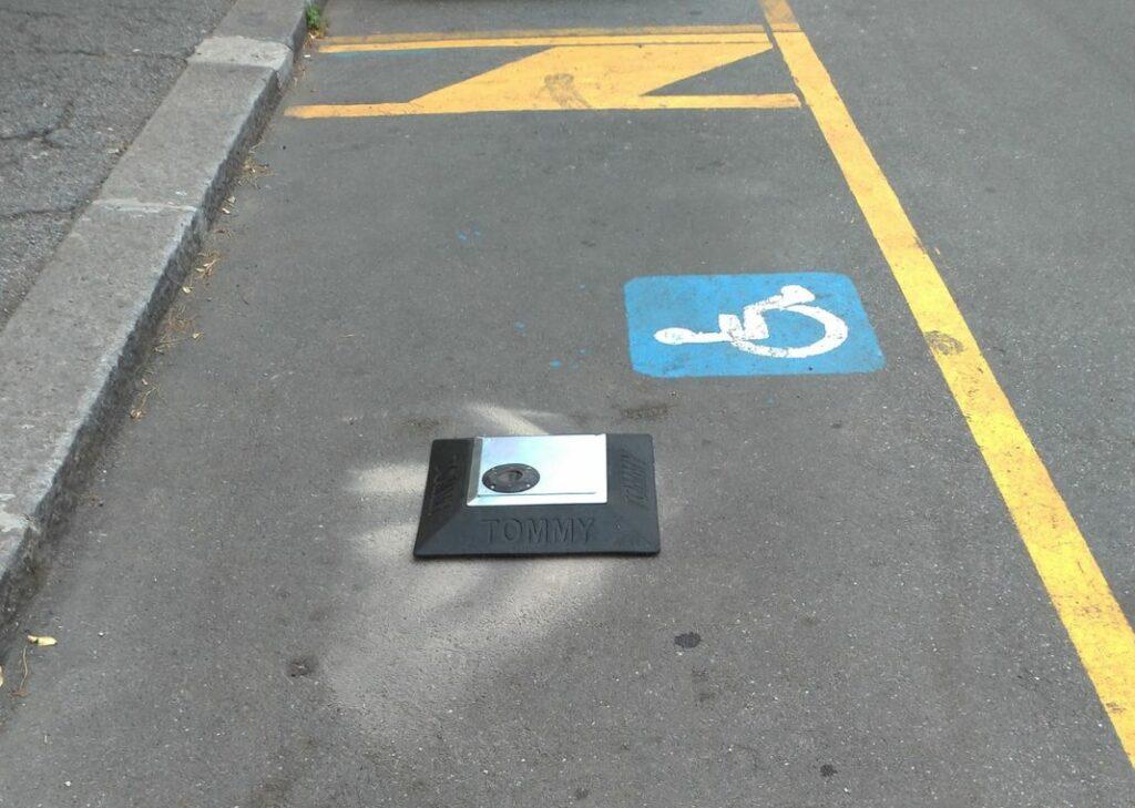 tommy parcheggi disabili