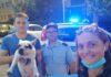 cane rubato su treno a Loano