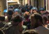 manifestazione anarchici piazza Lavagna