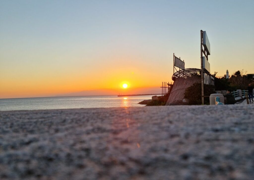 tramonto sereno genova